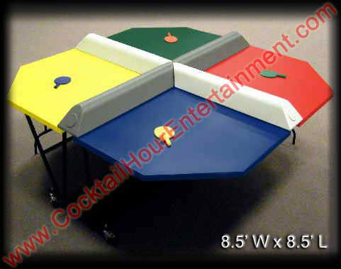 4 player ping-pong arcade game rental