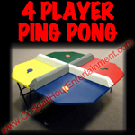 4 player ping pong button