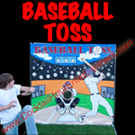 baseball toss button