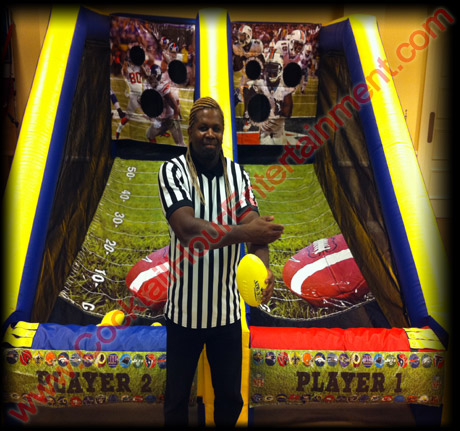football arcade game rental