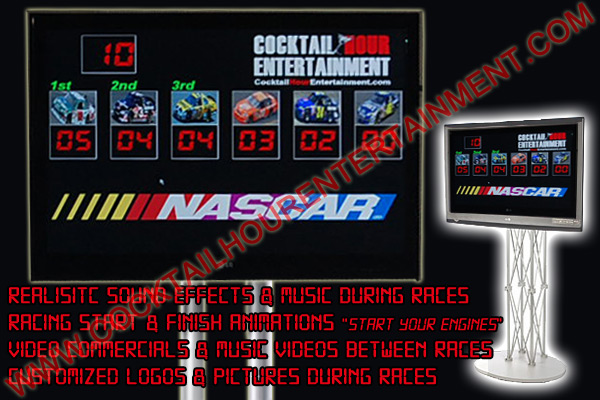 electronic racing scoreboard