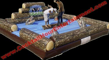 log Rolling arcade game rental