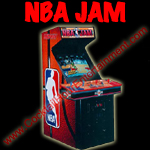 florida arcade game rental nba jam button