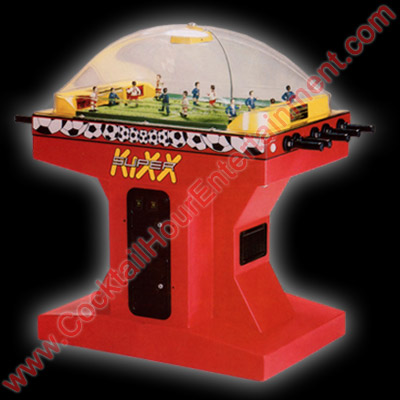 super kixx soccer arcade game rental