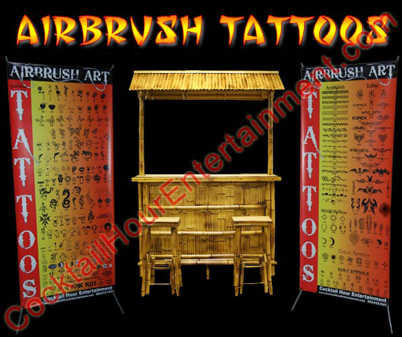 Airbrush Tattoos South Florida
