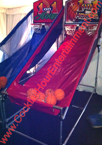 basketball pop a shot arcade game rental