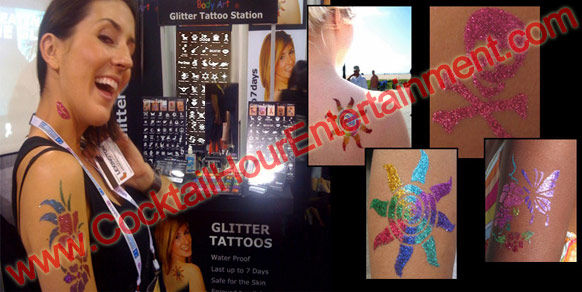 Bat Mitzvah Glitter Tattoos