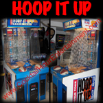 arcade game rental basketball pop a shot