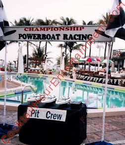 powerboat pool racing