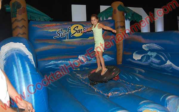 Bat Mitzvah Surfboard Simulator
