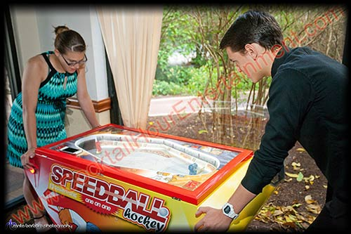speedball hockey arcade game rental
